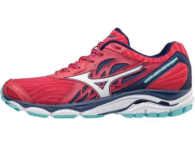 Mizuno Wave Inspire 14 - Zapatillas running Mujer - rosa/azul